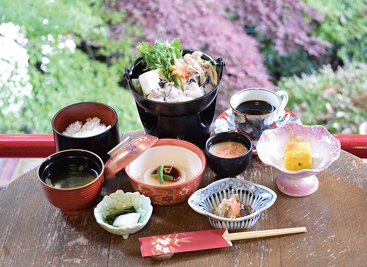 牡蠣鍋御膳(豆乳仕立て)