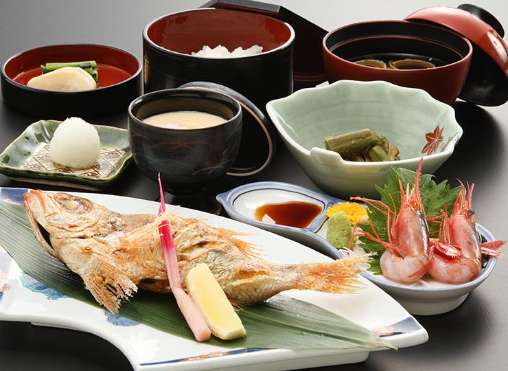 日本海のどぐろ御膳