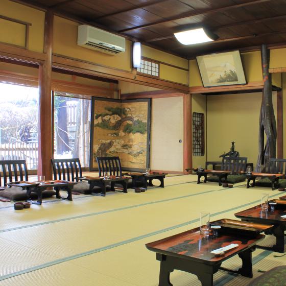 竹の間 百年料亭 宇喜世(うきよ) 新潟県上越市